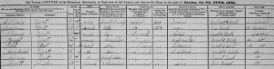 1841 Irish Census for the Archibald Elliott household (located in Arva, Drumalt, Killeshandra, Tullyhunco, Cavan)