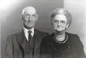 Cora with her husband in about 1960
