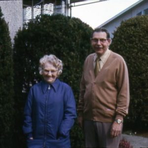 Anne and Alvin Alexander, Easter 1975
