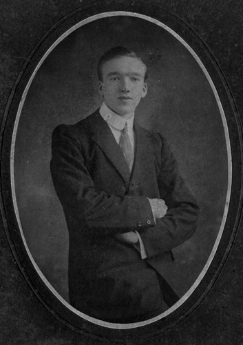 William in 1908, about a year before his wedding.